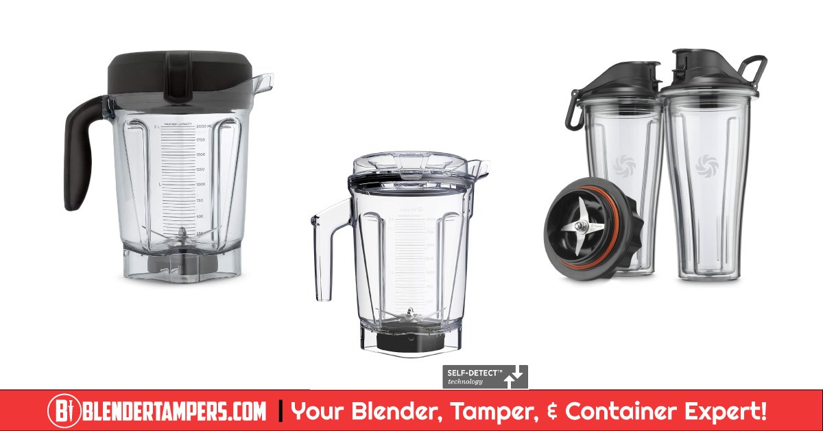 Vitamix Containers Compatibility - Blender Tamper